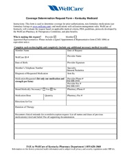 Prior Authorization Forms - UofL General Peds